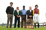 9  April, 2011:  Paddy Young and TIZSILK's connections in the winners circle for Stoneybrook feature race, the Sandhills Cup.
