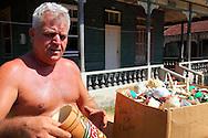 Man with maracas in San Miguel de los Banos, Matanzas, Cuba.