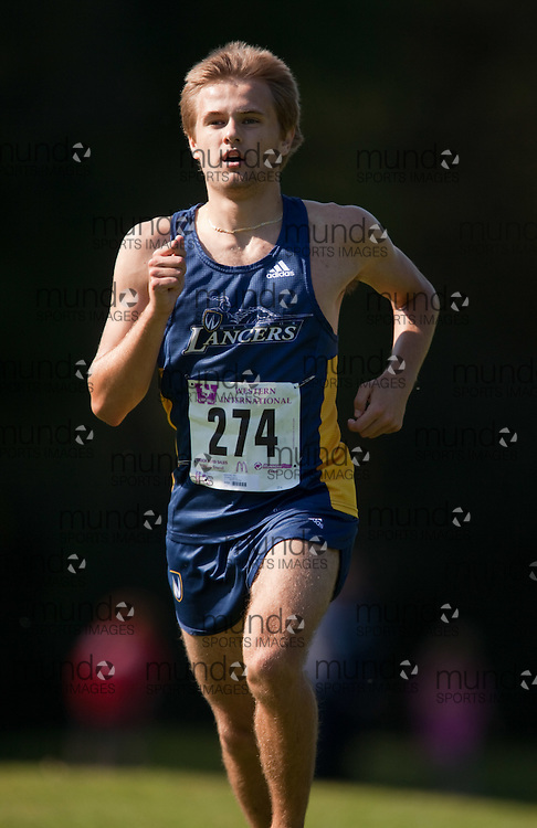 London, Ontario ---11-09-24--- Paul Janikowski of the Windsor Lancers competes in the 2011 Western International at Thames Valley Golf Course in London, Ontario, September 25, 2011...GEOFF ROBINS Mundo Sport Images