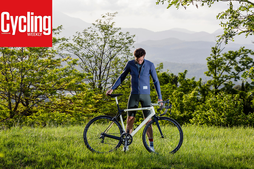 Scotish cyclist David Millar interview photographed for Weekly Cycling Magazine.