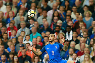 France's defender Layvin Kurzawa controls the ball during the FIFA World Cup Russia 2018, Qualifying Group A football match between France and Netherlands on August 31, 2017 at the Stade de France in Saint-Denis, north of Paris, France - Photo Benjamin Cremel / ProSportsImages / DPPI
