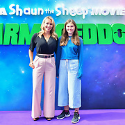 Guests arrive at the Shaun the Sheep Movie: Farmageddon, at ODEON LUXE on 22 September 2019,  London, UK.