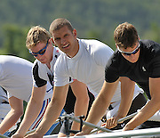 Banyoles, SPAIN,  GBR M8+, {L - R} Tom BURTON, Mohamed SBIHI and Tom SOLESBURY,  FISA World Cup Rd 1. Lake Banyoles  Thursday,  28/05/2009   [Mandatory Credit. Peter Spurrier/Intersport Images]