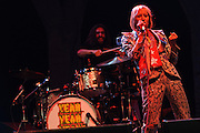 Photos of Yeah Yeah Yeahs performing live at The Great GoogaMooga Festival kickoff concert at Prospect Park in Brooklyn, NY. May 17, 2013. Copyright © 2013 Matthew Eisman. All Rights Reserved