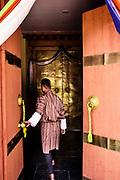 Door through Transformation room to hotel