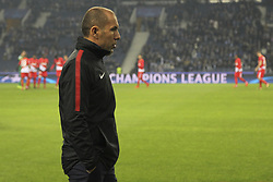 December 6, 2017 - Na - Porto, 06/12/2017 - Football Club of Porto received, this evening, AS Monaco FC in the match of the 6th Match of Group G, Champions League 2017/18, in Estádio do Dragão. Leonardo Jardim  (Credit Image: © Atlantico Press via ZUMA Wire)