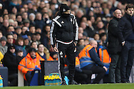 Francesco Guidolin, the Swansea City manager reacts after Alberto Paloschi of Swansea City misses a chance to score. Barclays Premier league match, Tottenham Hotspur v Swansea city at White Hart Lane in London on Sunday 28th February 2016.<br /> pic by John Patrick Fletcher, Andrew Orchard sports photography.