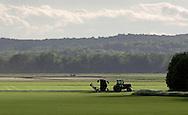 Warwick, New York - Farm fields in the Black Dirt region of Orange County on May 8, 2010.