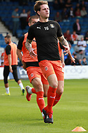 Luton Town defender Glen Rea (16) warming up before the EFL Sky Bet League 1 match between Luton Town and Bristol Rovers at Kenilworth Road, Luton, England on 15 September 2018.