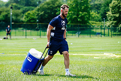 Sam Dodge in action during week 1 of Bristol Bears pre-season training ahead of the 19/20 Gallagher Premiership season - Rogan/JMP - 03/07/2019 - RUGBY UNION - Clifton Rugby Club - Bristol, England.