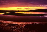 Limantour Estero at Minus Tide before Dawn, Point Reyes National Seashore, California