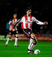 Photo: Alan Crowhurst.<br />Southampton v Cardiff City. Coca Cola Championship. 13/03/2007. Southampton's Claus Lundekvam.