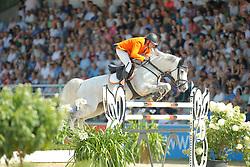 Zoer Albert, (NED)<br /> CSIO Nations Cup - Mannheim 2015<br /> © Hippo Foto - Stefan Lafrentz