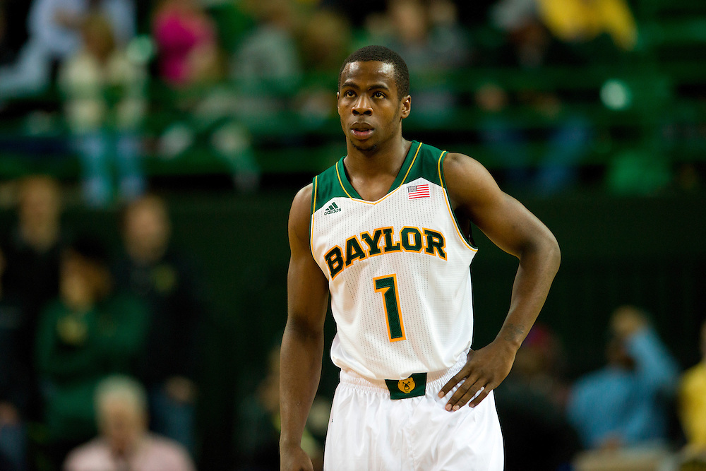 WACO, TX - JANUARY 28: Kenny Chery #1 of the Baylor Bears looks on against the West Virginia Mountaineers on January 28, 2014 at the Ferrell Center in Waco, Texas.  (Photo by Cooper Neill/Getty Images) *** Local Caption *** Kenny Chery