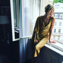 """Karolina Kurkova releases a photo on Instagram with the following caption: """"Day dreaming #karlovyvary @kviff #czechrepublic"""". Photo Credit: Instagram *** No USA Distribution *** For Editorial Use Only *** Not to be Published in Books or Photo Books ***  Please note: Fees charged by the agency are for the agency's services only, and do not, nor are they intended to, convey to the user any ownership of Copyright or License in the material. The agency does not claim any ownership including but not limited to Copyright or License in the attached material. By publishing this material you expressly agree to indemnify and to hold the agency and its directors, shareholders and employees harmless from any loss, claims, damages, demands, expenses (including legal fees), or any causes of action or allegation against the agency arising out of or connected in any way with publication of the material."""