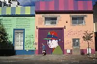 Argentina. Buenos Aires.<br /> Barrio de El Abasto. Lugar donde vivió Gardel.<br /> <br /> El Abasto district. Place where Gardel spent his youth.<br /> <br /> © JOAN COSTA