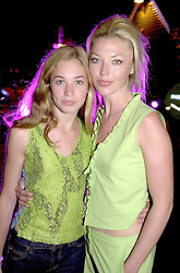 Right, social figure MISS TAMARA BECKWITH<br />  and her daughter ANOUSKA at a party in London <br /> on 3rd June 2000.OEZ 53<br /> © Desmond O'Neill Features:- 020 8971 9600<br />    10 Victoria Mews, London.  SW18 3PY <br /> www.donfeatures.com   photos@donfeatures.com<br /> MINIMUM REPRODUCTION FEE AS AGREED.<br /> PHOTOGRAPH BY DOMINIC O'NEILL