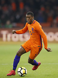 Georginio Wijnaldum of Holland during the International friendly match match between The Netherlands and England at the Amsterdam Arena on March 23, 2018 in Amsterdam, The Netherlands