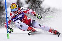 10.01.2015, Adelboden, SUI, FIS Weltcup Ski Alpin, Adelboden, Riesentorlauf, Herren, 2. Durchgang, im Bild Marcel Hirscher (AUT, 1. Platz) // first placed Marcel Hirscher (AUT)in action during 2nd run of of Men Giant Slalom of FIS Ski Alpine World Cup in Adelboden, Switzerland on 2015/01/10. EXPA Pictures © 2015, PhotoCredit: EXPA/ Freshfocus/ Urs Lindt<br /> <br /> *****ATTENTION - for AUT, SLO, CRO, SRB, BIH, MAZ only*****