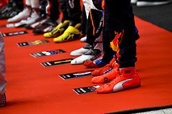 September 30, 2018 - Sochi, Russia - Motorsports: FIA Formula One World Championship 2018, Grand Prix of Russia,    Shoes  (Credit Image: © Hoch Zwei via ZUMA Wire)