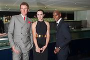 BRADLEY WIGGINS; VICTORIA PENDLETON; MO FARAH, 2012 GQ Men of the Year Awards,  Royal Opera House. Covent Garden, London.  3 September 2012