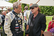THE EARL OF MARCH; BRIAN JOHNSON AC DC, The Cartier Style et Luxe during the Goodwood Festivlal of Speed. Goodwood House. 1 July 2012.