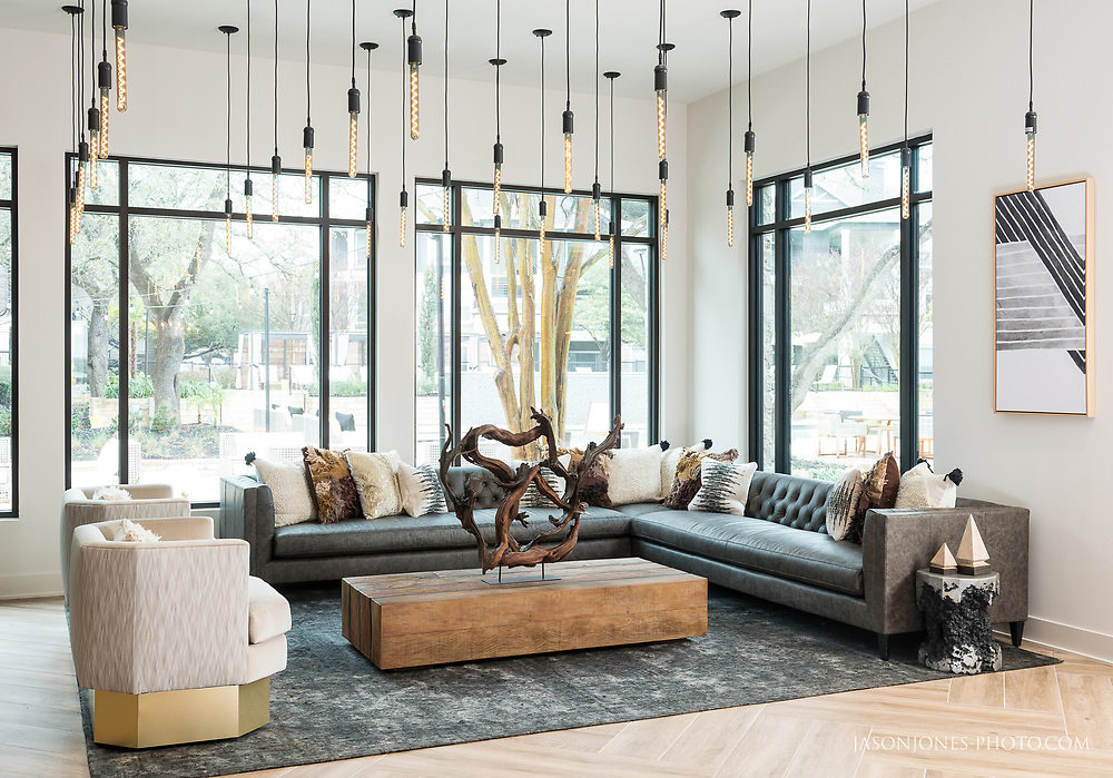 Multifamily housing clubhouse common area