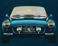 Ferrari 250 GT SWB Berlinetta 1957<br /> Development of the Ferrari 250 GT SWB Berlinetta was handled by Giotto Bizzarrini, Carlo Chiti, and young Mauro Forghieri, the same team that later produced the 250 GTO. Disc brakes were a first on a Ferrari GT, and the combination of low weight, high power, and well-sorted suspension made it competitive. It was unveiled at the Paris Motor Show in October and quickly began selling and racing. The SWB Berlinetta won Ferrari the GT class of the 1961 Constructor's Championship. Also won 1960, 1961 and 1962 Tour de France Automobile before giving ground to the GTO's. -<br /> <br /> BUY THIS PRINT AT<br /> <br /> FINE ART AMERICA<br /> ENGLISH<br /> https://janke.pixels.com/featured/2-ferrari-250-gt-swb-berlinetta-1957-jan-keteleer.html<br /> <br /> WADM / OH MY PRINTS<br /> DUTCH / FRENCH / GERMAN<br /> https://www.werkaandemuur.nl/nl/shopwerk/Ferrari-250-GT-SWB-Berlinetta-1957-voorzijde/571901/132