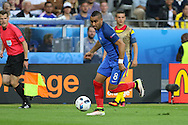 France Midfielder Dimitri Payet during the Group A Euro 2016 match between France and Romania at the Stade de France, Saint-Denis, Paris, France on 10 June 2016. Photo by Phil Duncan.
