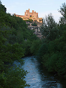The medievil Château de Beynac in Beynac-Et-Cazenac on the Dordgne River, Dordogne, France