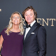 NLD/Amsterdam/20181023 -  Film premiere De Dirigent, Frits Sissing en partner Willemijn