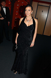 """NANCY DELL'OLIO at the 10th annual British Red Cross London Ball.  This years ball theme was Indian based - """"Yaksha - Yakshi: Doorkeepers to the Divine"""" and was held at The Room, Upper Ground, London on 1st December 2004.  Proceeds from the ball will aid vital humanitarian work, including HIV/AIDS projects that the Red Cross supports in the UK and overseas.<br /><br />NON EXCLUSIVE - WORLD RIGHTS"""