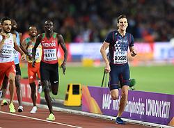 August 8, 2017 - London, England, United Kingdom - Pierre-Ambroise BOSSE, France, during 800 meter finals in London at the 2017 IAAF World Championships athletics on August 8, 2017. (Credit Image: © Ulrik Pedersen/NurPhoto via ZUMA Press)