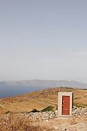 Greece, Syros, Cyclades: a door to nowhere.