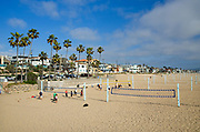 Manhattan Beach Sand Volleyball Courts
