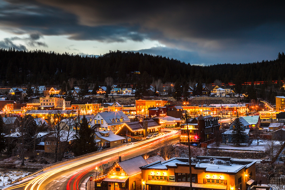 """""""Downtown Truckee 24"""""""