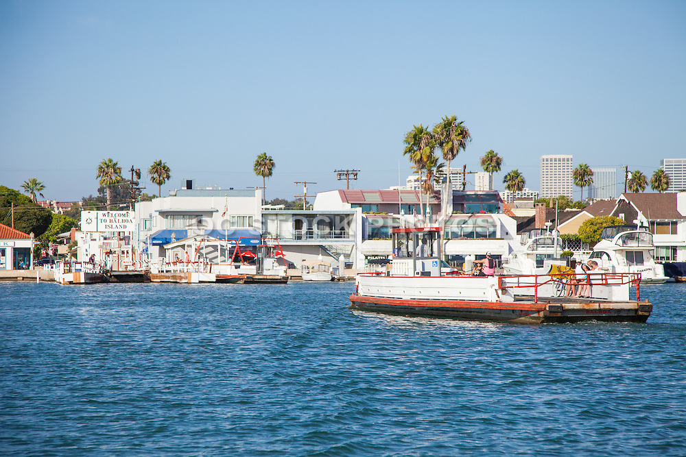 Balboa Island of Newport Beach