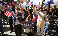 """Supporters of U.S. President Donald Trump cheer at a """"Spirit of America"""" rally in Denver February 27, 2017.   REUTERS/Rick Wilking"""