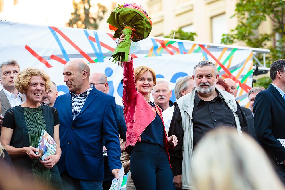 Sandra Švaljek - gradonačelnička kampanja