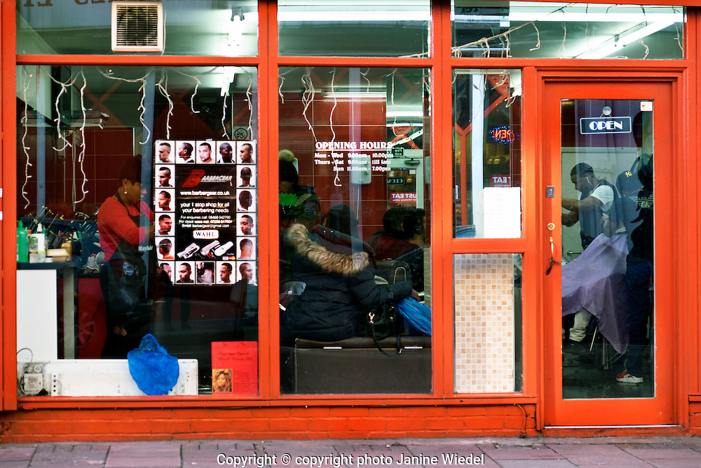 Hairdresser in Atlantic Road up for eviction by Network Rail in Brixton