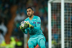 November 26, 2019, Madrid, MADRID, SPAIN: Keylor Navas of Paris Saint-Germain during the UEFA Champions League football match, Group A, played between Real Madrid and Paris Saint-Germain at Santiago Bernabéu Stadium on November 26, 2019, in Madrid, Spain. (Credit Image: © AFP7 via ZUMA Wire)