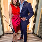 NLD/Amsterdam//20170410 - Free a Girl Celebrity Night, Marvy Rieder en partner ......