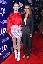 December 5, 2018 - Hollywood, California, U.S. - Raffey Cassidy and Natalie Portman arrives for the premiere of the film 'Vox Lux' at the Arclight theater. (Credit Image: © Lisa O'Connor/ZUMA Wire)