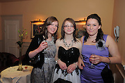 Eleanor Hynes Craughwell, Aoife Carrol, Loughrea Lucy Hammond Loughrea,  at the  Ability West,  second annual Best Buddies ball, 2010 in the Galway Bay Hotel, Salthill Galway. Photo:Andrew Downes.