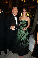LADY GABRIELLA WINDSOR and MANOLO BLAHNIK at the British Fashion Awards 2006 sponsored by Swarovski held at the V&A Museum, Cromwell Road, London SW7 on 2nd November 2006.<br /><br />NON EXCLUSIVE - WORLD RIGHTS