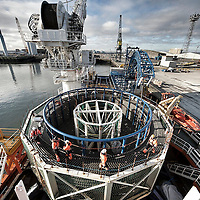 Meerwind cable  loadout at Hartlepool