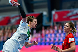 Alina Grijseels of Germany during the Women's EHF Euro 2020 match between Germany and Poland at Sydbank Arena on december 07, 2020 in Kolding, Denmark (Photo by RHF Agency/Ronald Hoogendoorn)
