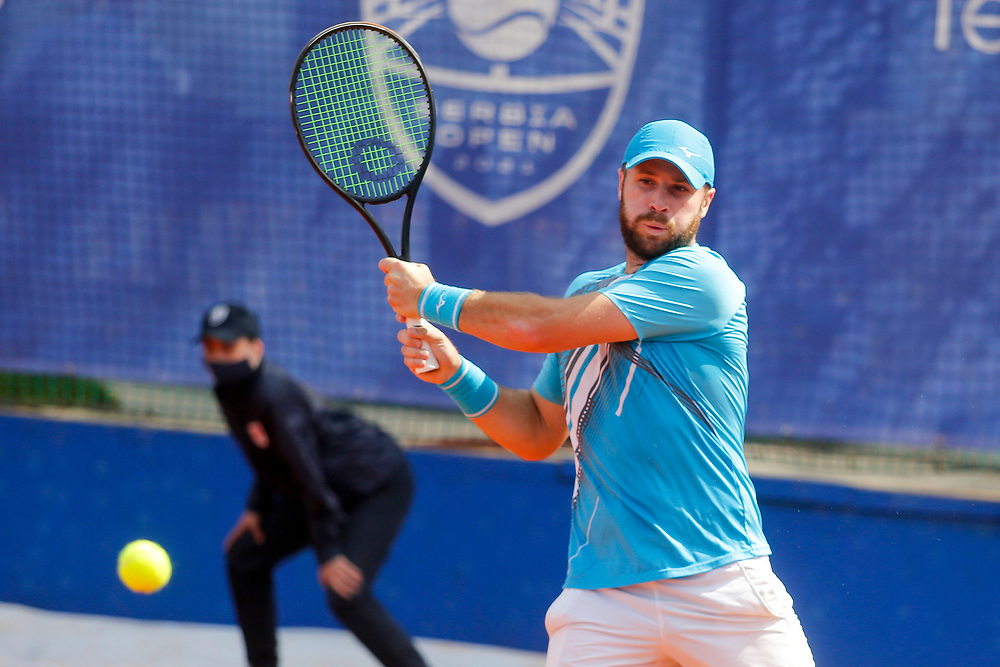 Tennis-ATP Serbia Open Belgrade 2021-<br /> Matteo Berrettini (ITA)-Andrea Vavassori (ITA) v Luke Bambridge (GBR)-Dominic Inglot (GBR)<br /> Beograd, 22.04.2021.foto: Marko Djokovic/Starsportphoto ©