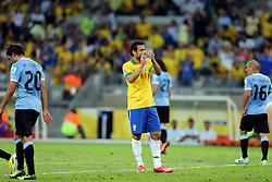 Fred na partida entre Brasil e Uruguai válida pela Copa das Confederações, no Estádio Mineirão, em Belo Horizonte-MG. FOTO: Jefferson Bernardes/Preview.com