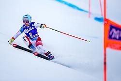 17.01.2018, Olympia delle Tofane, Cortina d Ampezzo, ITA, FIS Weltcup Ski Alpin, Abfahrt, Damen, 1. Training, im Bild Jasmine Flury (SUI) // Jasmine Flury of Switzerland in action during the 1st practice run of ladie' s downhill of the Cortina FIS Ski Alpine World Cup at the Olympia delle Tofane course in Cortina d Ampezzo, Italy on 2015/01/17. EXPA Pictures © 2018, PhotoCredit: EXPA/ Dominik Angerer
